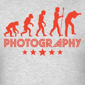 Retro Photography Evolution - Men's T-Shirt