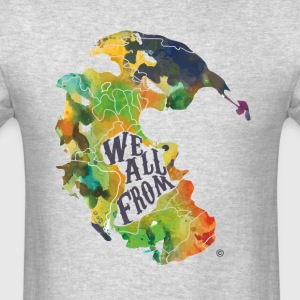 We All From Africa Dark Print - Men's T-Shirt