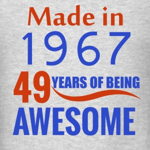 49th birthday design - Men's T-Shirt