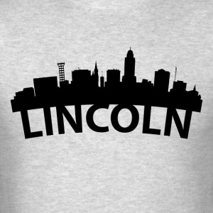 Arc Skyline Of Lincoln NE - Men's T-Shirt