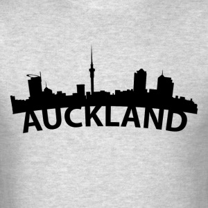 Arc Skyline Of Auckland New Zealand - Men's T-Shirt