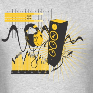 Music beat - Men's T-Shirt