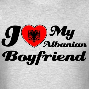Albanian Boyfriend designs - Men's T-Shirt