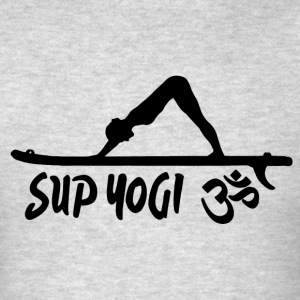SUP YOGI - dark - Men's T-Shirt