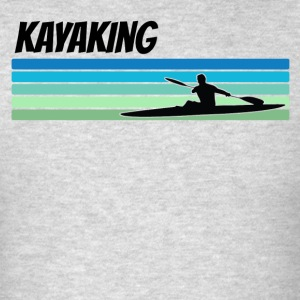 Retro Kayaking - Men's T-Shirt