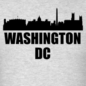Washington DC Skyline - Men's T-Shirt