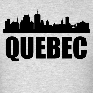 Quebec Skyline - Men's T-Shirt
