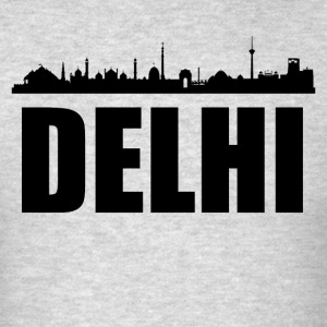 Delhi Skyline - Men's T-Shirt