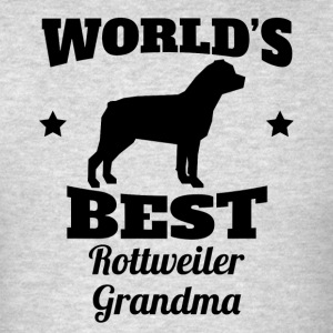 World's Best Rottweiler Grandma - Men's T-Shirt