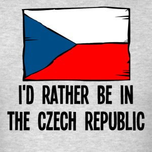 I'd Rather Be In the Czech Republic - Men's T-Shirt