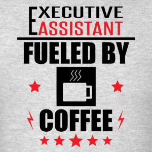Executive Assistant Fueled By Coffee - Men's T-Shirt