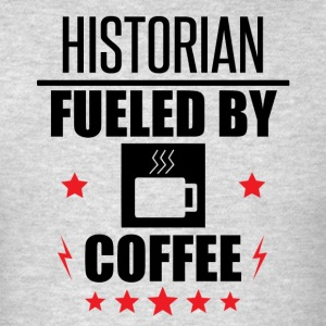 Historian Fueled By Coffee - Men's T-Shirt