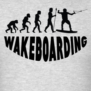 Wakeboarding Evolution - Men's T-Shirt