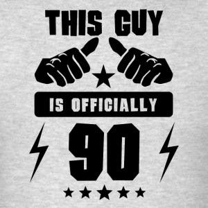 This Guy Is Officially 90 - Men's T-Shirt
