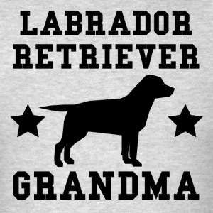 Labrador Retriever Grandma - Men's T-Shirt