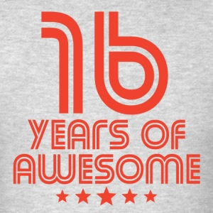 16 Years Of Awesome 16th Birthday - Men's T-Shirt