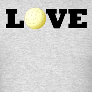 Volleyball Love - Men's T-Shirt
