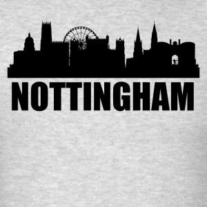 Nottingham Skyline - Men's T-Shirt