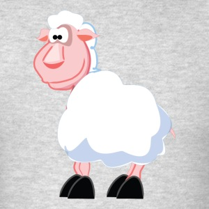 Cartoon Sheep - Men's T-Shirt