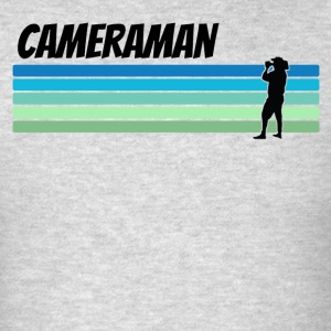 Retro Cameraman - Men's T-Shirt