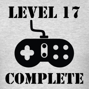 Level 17 Complete 17th Birthday - Men's T-Shirt