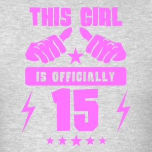 This Girl Is Officially 15 - Men's T-Shirt