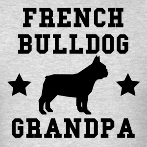 French Bulldog Grandpa - Men's T-Shirt