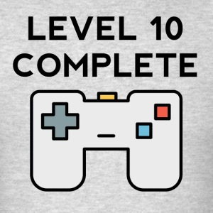 Level 10 Complete 10th Birthday - Men's T-Shirt