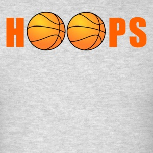 Hoops Basketball - Men's T-Shirt