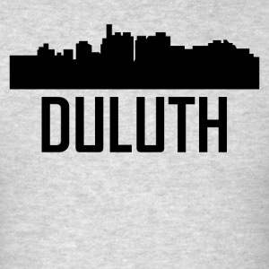 Duluth Minnesota City Skyline - Men's T-Shirt