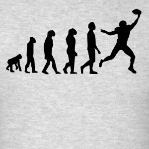 Football Evolution Wide Receiver - Men's T-Shirt