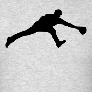 Baseball Fielder - Men's T-Shirt