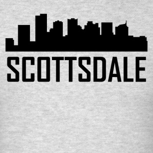 Scottsdale Arizona City Skyline - Men's T-Shirt