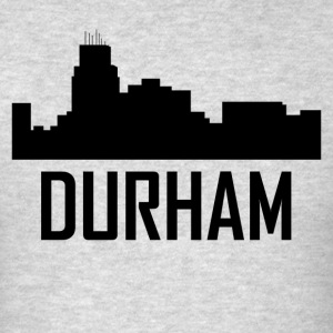Durham North Carolina City Skyline - Men's T-Shirt