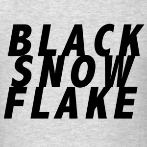 #blacksnowflake - Men's T-Shirt