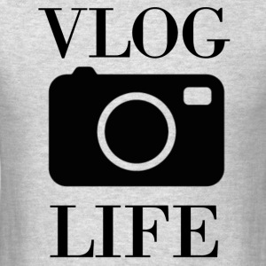 Vlog Life - Men's T-Shirt