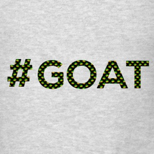 Hashtag GOAT - Men's T-Shirt