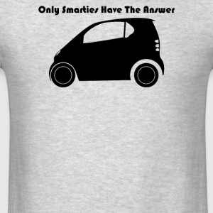 Only Smarties Have The Answer - Men's T-Shirt