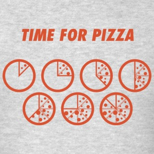 TIME FOR PIZZA pizza Pizza pizzaaaah - Men's T-Shirt