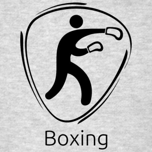 Boxing_black - Men's T-Shirt