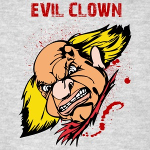 EVIL_CLOWN_5_bloody - Men's T-Shirt