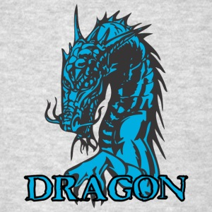 agry_looking_dragon - Men's T-Shirt