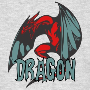 angry_dragon_2_color - Men's T-Shirt