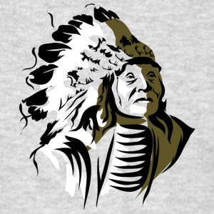 old_indian_chief - Men's T-Shirt