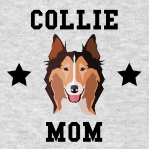 Collie Mom Dog Owner - Men's T-Shirt