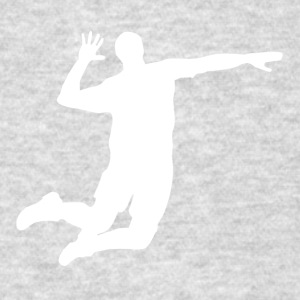 Volleyball Player Silhouette - Men's T-Shirt