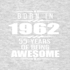 Born in 1962 55 Years of Being Awesome - Men's T-Shirt