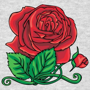 big_red_rose - Men's T-Shirt