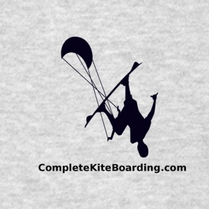 COMPLETE_KITE_BOARDING_kiter_b_and_w_gif - Men's T-Shirt
