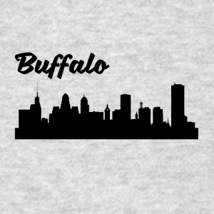 Buffalo NY Skyline - Men's T-Shirt